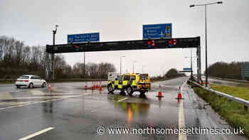 M5 closed due to serious defect
