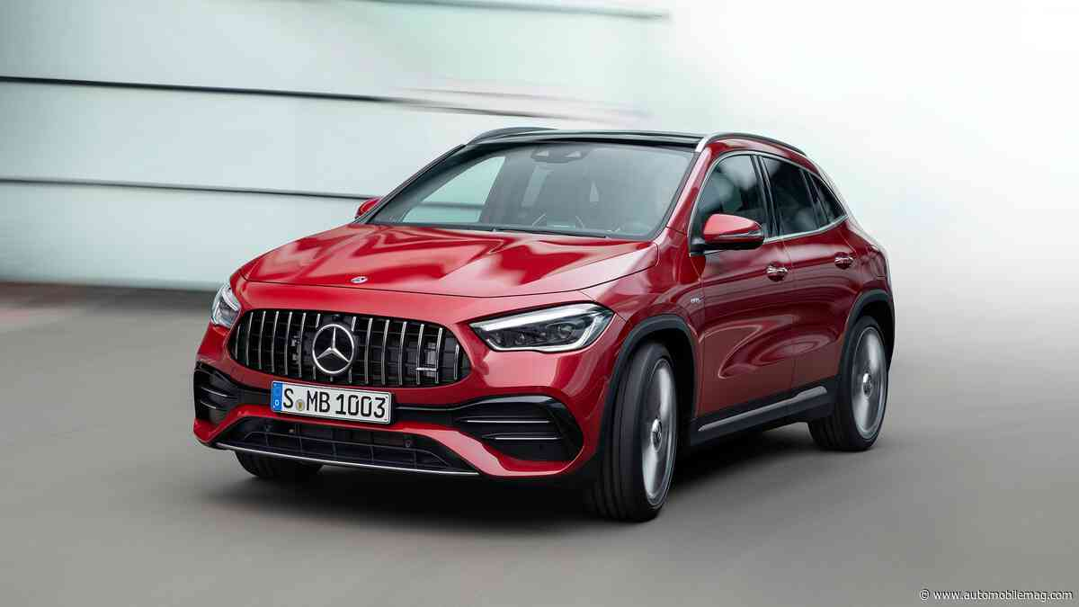 2021 Mercedes-Benz GLA-Class First Look: M-B's Smallest SUV Is All-New