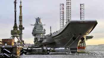 Russlands großer Flugzeugträger: Feuer bricht auf der Admiral Kusnezow aus
