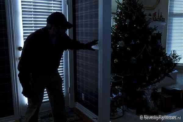 Tijdens de feestdagen 70 procent meer kans op inbraak