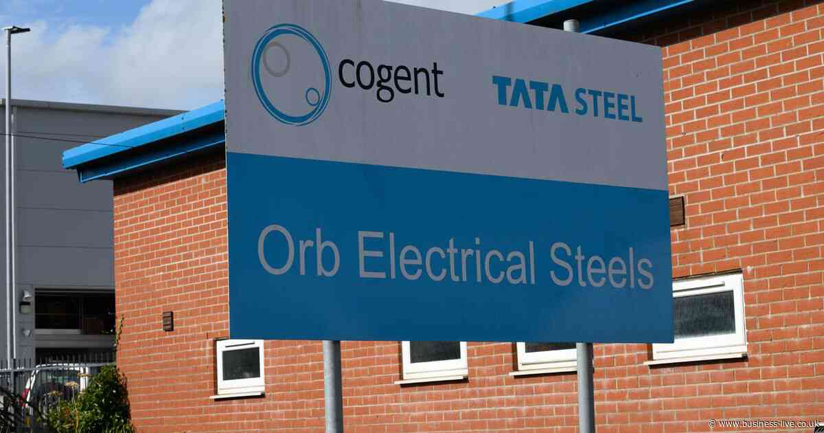 Two companies 'interested' in move for Orb Electrical Steels plant