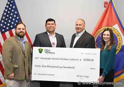 Mississippi Band of Choctaw Indians partners with Central Electric Power Association (CEPA)