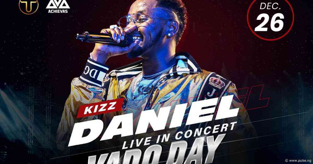 Get tickets to Kizz Daniel Live in Concert at 20% discount (Here's how!)