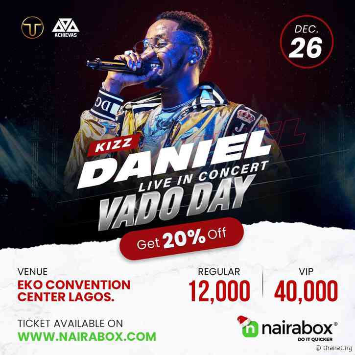 How To Get Tickets to Kizz Daniel Live in Concert at 20% Discount