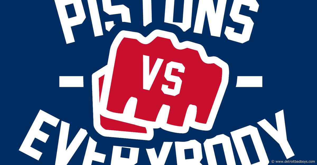 Pistons Vs Everybody: Rebuilding the Right Way