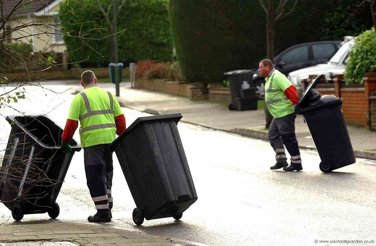Richmond Christmas and New Year waste collection dates