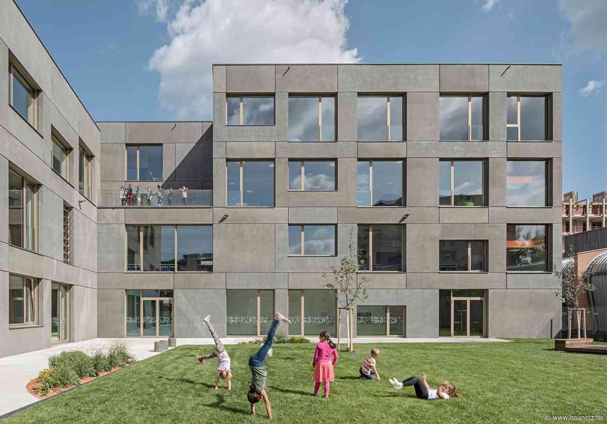 Smart, smarter, Graz  - Volksschule von Alexa Zahn Architekten