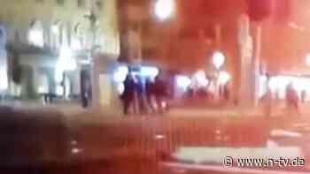 Video fließt in Ermittlungen ein: Kamera filmt tödliche Augsburg-Attacke