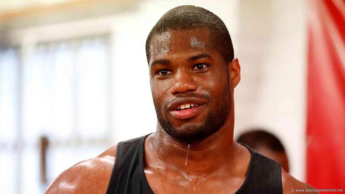 Daniel Dubois – inside the gym