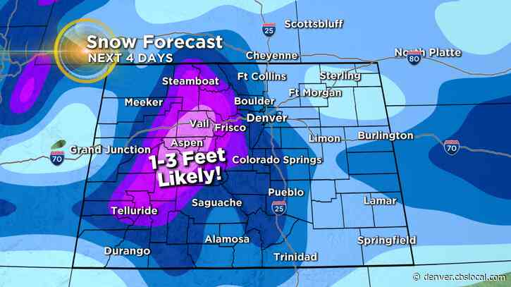 Colorado Weather: Mountain Travel May Become Impossible This Weekend