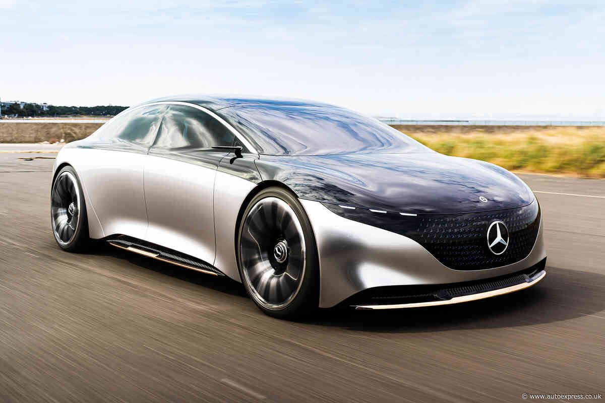 New Mercedes Vision EQS concept review