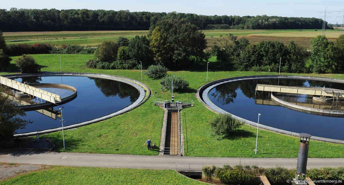 Abwasserbeseitigung im Land auf hohem Niveau