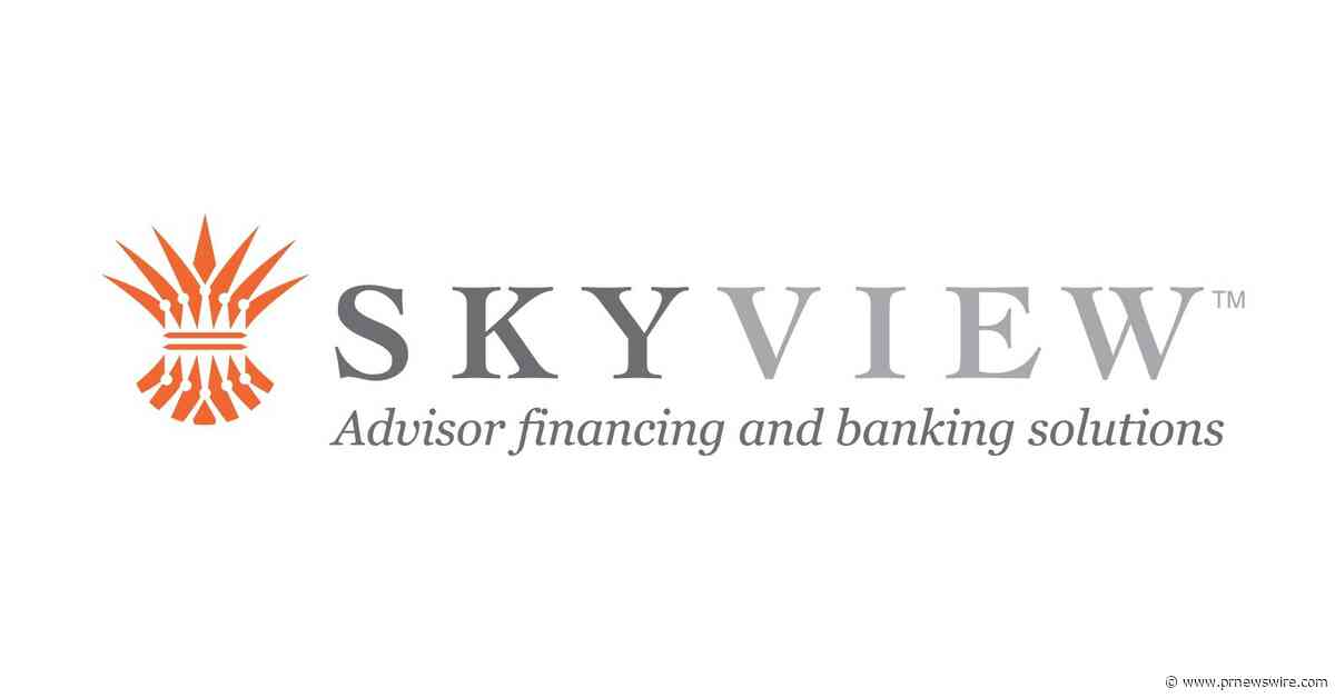 """SkyView Partners Announces """"Cash Out"""" Financing Option for Financial Advisors"""