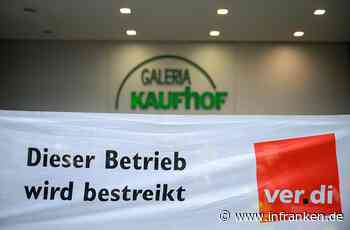 Streik bei Kaufhof und Karstadt: Verdi-Mitglieder legen die Arbeit nieder - hier wird in Franken gestreikt