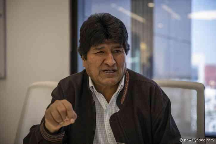 Bolivia's Ex-President Morales Seeks Refugee Status in Argentina