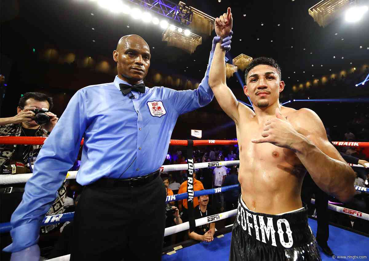 Teofimo Lopez's search for identity hopefully stops Saturday with a title