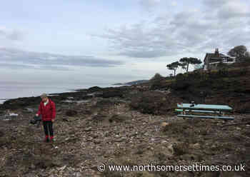 Pub benches swept away 50 miles away by flood found on Portishead beach