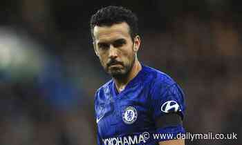 Pedro admits he could return to Barcelona with contract at Chelsea set to expire next summer