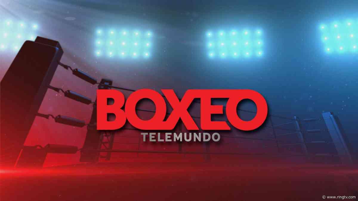 Yomar Alamo vs. Kendo Castaneda to kick off 'Boxeo Telemundo' in 2020