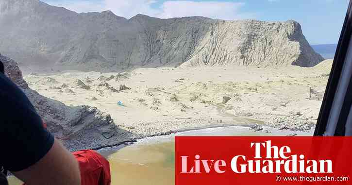 New Zealand volcano eruption: police launch White Island recovery operation – live