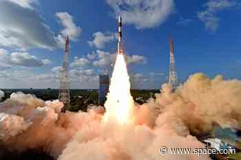 Indian Rocket Marks Historic 50th Launch with Spy Satellite