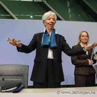 Christine Lagarde laat weinig los bij debuut, behalve dat ze een uil wil zijn