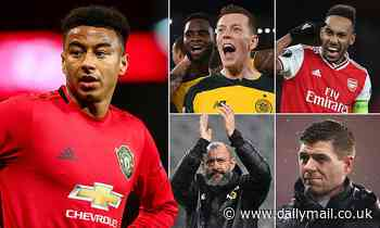 Europa League: Arsenal and Rangers could both go OUT as Manchester United vie for top spot