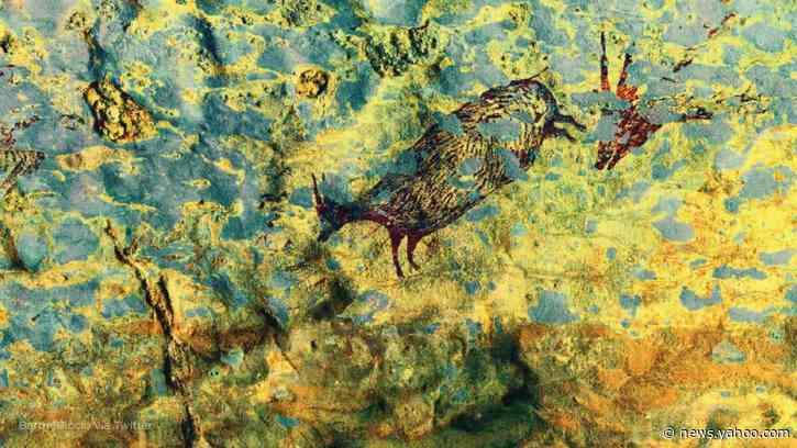 Newly discovered Indonesian cave painting could be the world's oldest figurative artwork