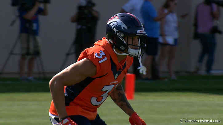 Broncos Safety Justin Simmons Named Team's Walter Payton Man Of The Year Nominee