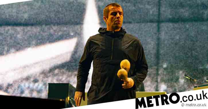 Liam Gallagher is not a happy man as he's cut off mid-song over noise curfew rules