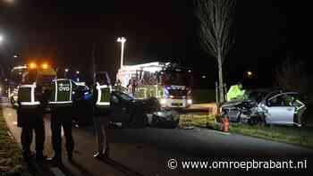 Drie zwaargewonden bij ongeval in Best, brandweer moet slachtoffers bevrijden
