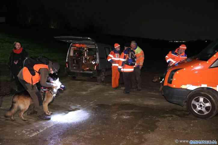 Reddingshonden zoeken naar vermiste vrouw uit Westervoort