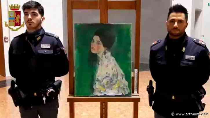 Stolen Gustav Klimt Painting May Have Been Discovered in an Italian Gallery'sWall