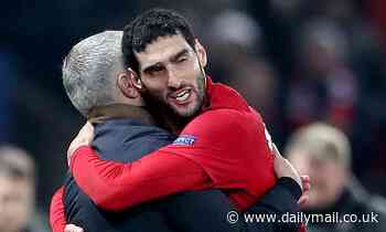 Marouane Fellaini rules out immediate reunion with Jose Mourinho at Tottenham