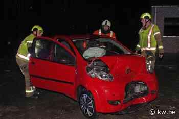 Drie gewonden bij zware klap op de Keiberg in Heestert