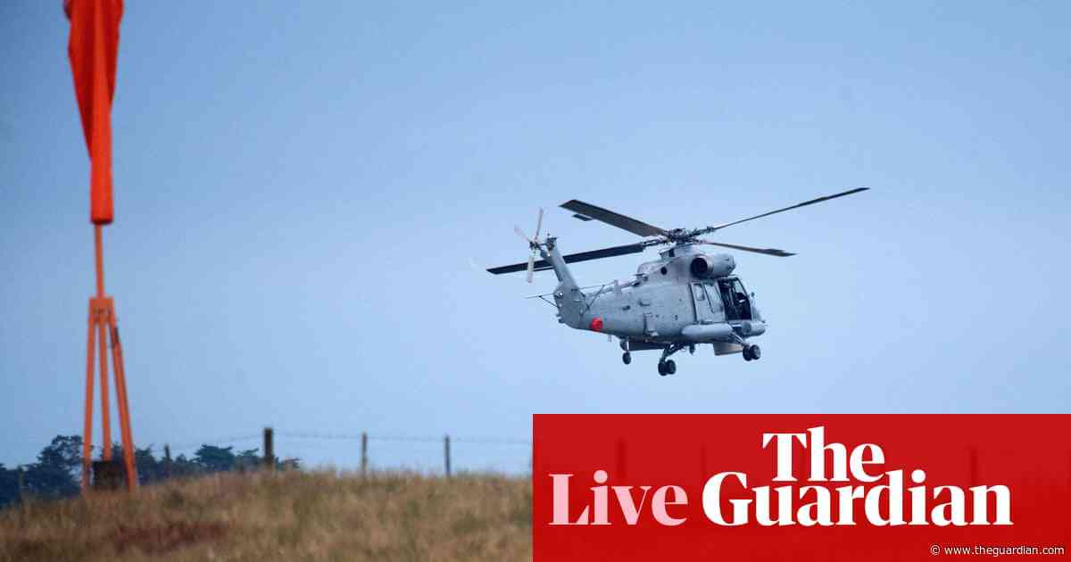 New Zealand volcano eruption: recovery team land on White Island – live