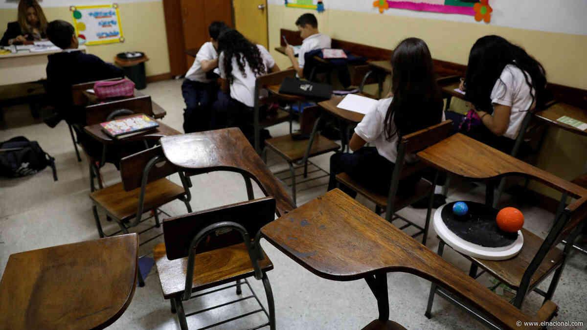 Emergencia educativa: la mitad de los maestros venezolanos abandonó las aulas de clases