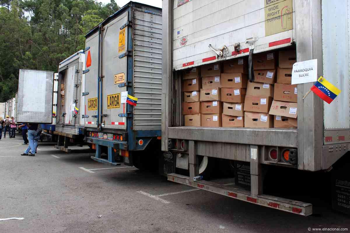 El régimen de Maduro empezó a distribuir las «27.000 toneladas de pernil»