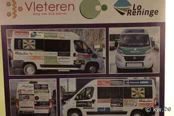 Minibus voor OCMW's van Vleteren en Lo-Reninge