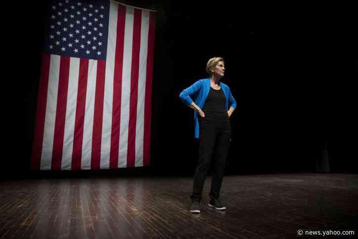 Elizabeth Warren Takes on Democratic Rivals on Fundraising in Speech