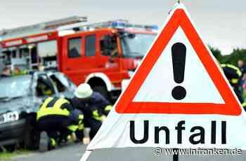 Neustadt bei Coburg: Schwerer Unfall mit drei beteiligten Autos - Mann (57) verletzt, hoher Schaden