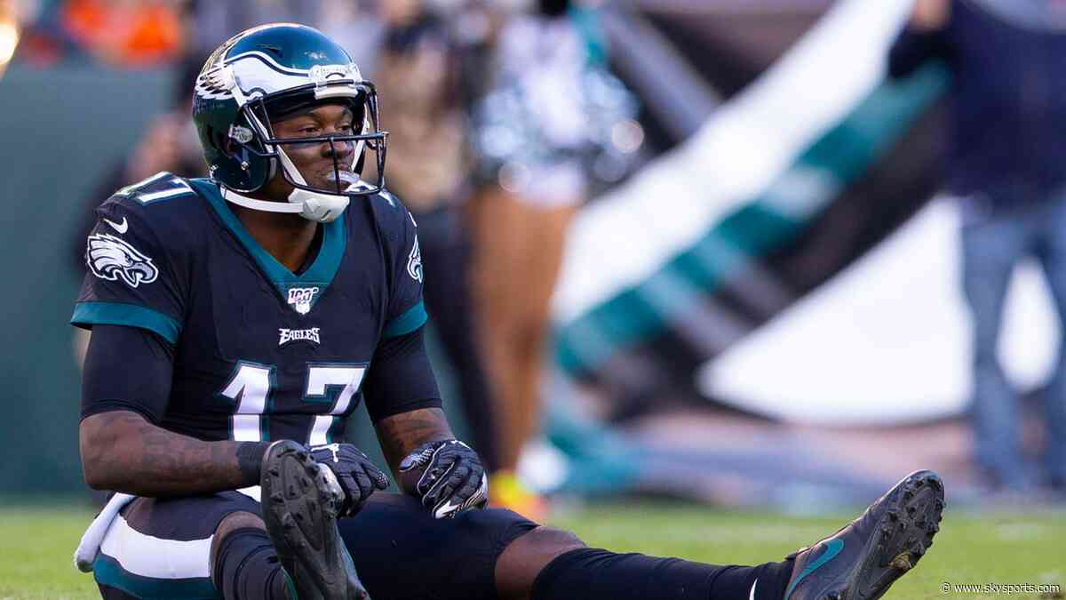 Eagles' Jeffery out for season with injury