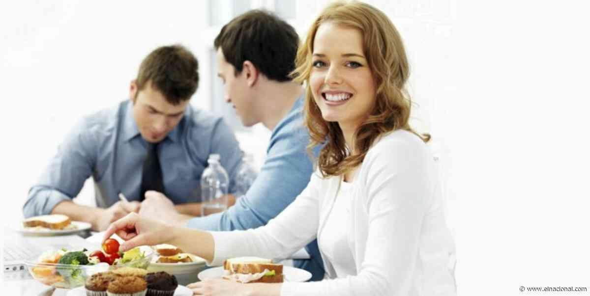 Algunos almuerzos sanos y sencillos para comer en el trabajo