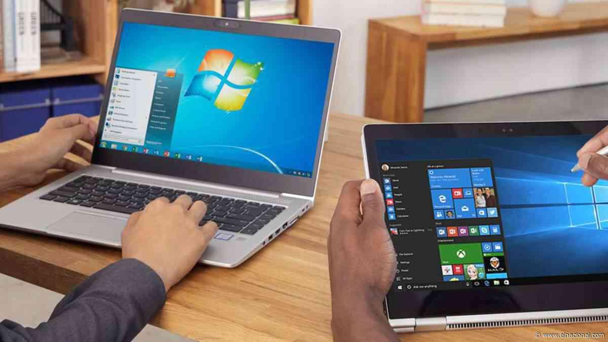 Usuarios de Windows 7 dejarán de tener soporte técnico en enero
