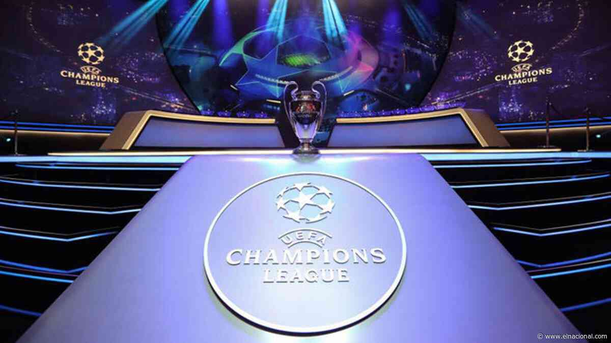Conozca los posibles rivales del Barcelona y Real Madrid en Champions