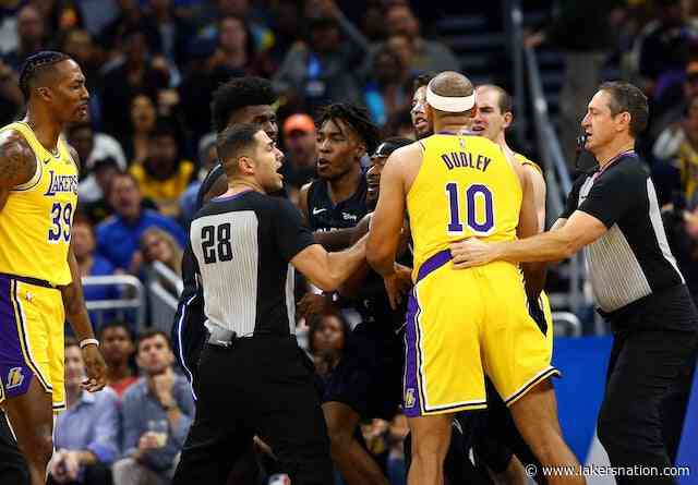 Jared Dudley On Lakers Vs. Magic Ejection: 'You've Got To Stand Up For Your Guys'