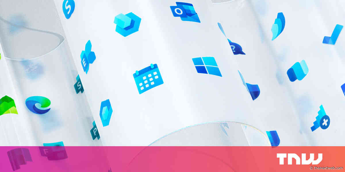 Microsoft redesigns over 100 icons, including the Windows logo