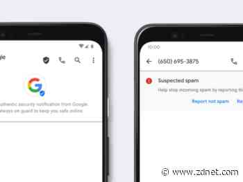 Google rolls out Verified SMS and Spam Protection in Android