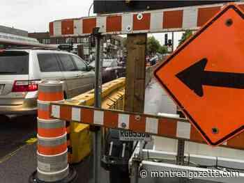 Weekend traffic update: Roadwork on Highways 15 and 20