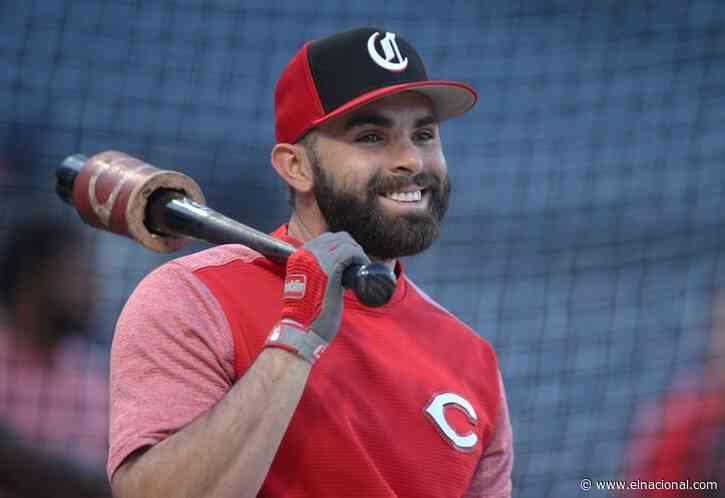José Peraza se uniformará de Patirrojo para la próxima temporada de MLB